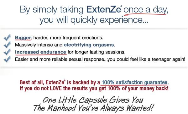 extenze benefits